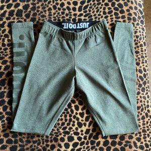 Nike olive green leggings